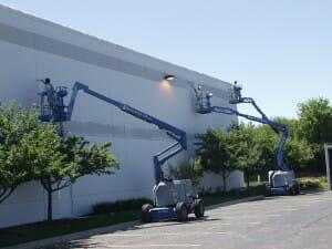 exterior building painters houston