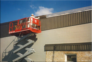 exterior commercial painting houston