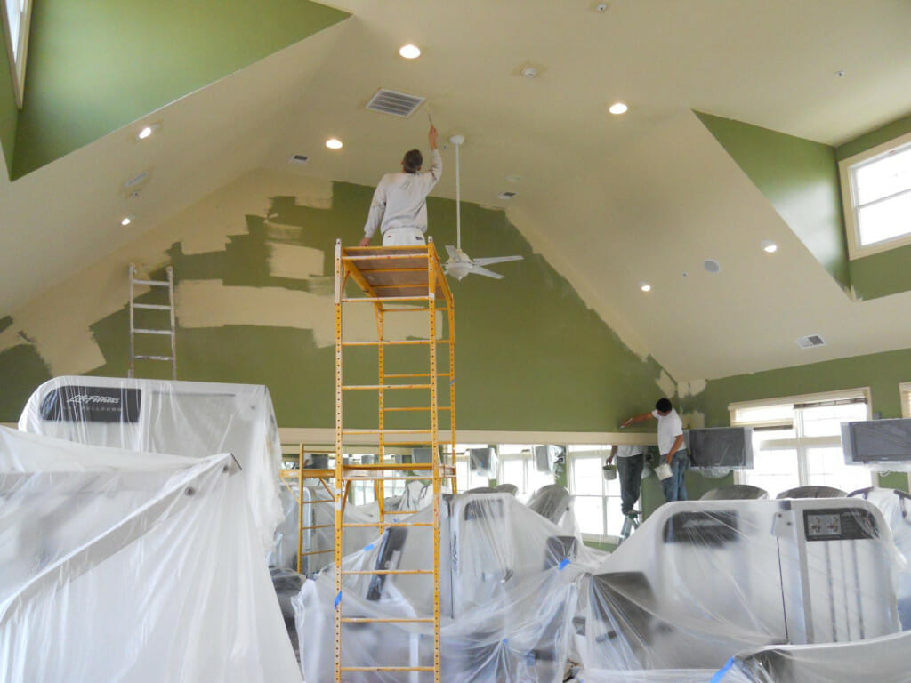 About our work commercial painting houston for Industrial painting service