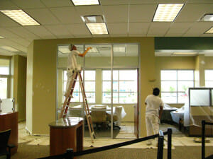 office building painters in houston